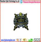 Professional Supply metal logo, print badge 3D logo