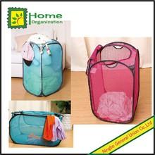 high quality pop up zip flip hamper, laundry basket