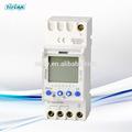 Th-292 elektrik dijital zamanlayıcı anahtarı ikinci ayarı din raylı/220v pille çalışan zamanlayıcı