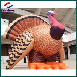 NB-CT20108 NingBang Outdoor Inflatable Turkey, Advertising Turkey Model, Inflatable Turkey Prices For Sale