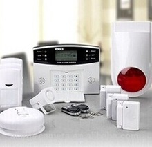 CE&ROHS! people-oriented gsm alarm products LCD display , best sistemas de alarma 3G/GPRS wifi alarm system security