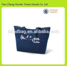HDG2263 blue canvas shopping bag,hot popular shopping bag,eco-friendly shopping bag
