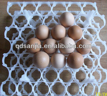 high quality egg boxes folded high quality decorative egg turnover box/crates suit price