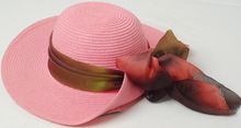 ladies fancy grace straw hat
