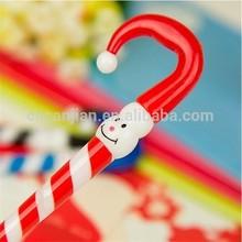 Christmas pen umbrella shaped ballpoint pen