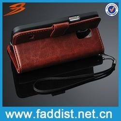 faddist wallet pu leather case for s5 mini