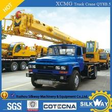 China Best Brand XCMG Hydraulic Truck Crane 8ton Mobile Crane QY8B.5