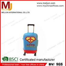 2015 best seller suitabel for travelling by air PU travel bag with trolly