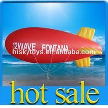 The best quality airship flights/plastic advertising balloon/latex airship balloons
