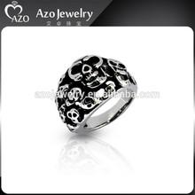 Hotsale Stainless Steel Male Skull Ring