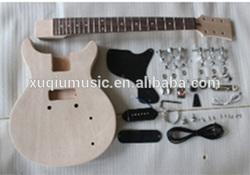 Unfinished guitar kits Body,Dyi Guitar Kit
