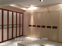 l shape solid wooden wardrobe designs