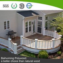 Nonedeformable Oudoor Garden Wood Plastic Composite Fence