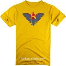 Promotional Blank T Shirts Custom Printing Men Adult O-neck T Shirts