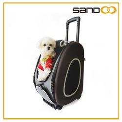 2015 china supplier funky eva toy pet carrier set, trolley pet carrier