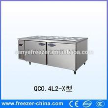 Resturant kitchen refrigerated salad bar
