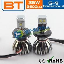 Canbus 36W 3600 Lumen/Bulb Car H4 LED Headlight For Led Auto H4 12v 100w