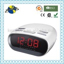 2015 Factory Price Desktop Home AM FM Alarm Clock Radio