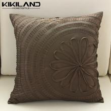 Cotton Linen Hand Embroidery Cushion Cover Home Decor Sofa Pillow Case