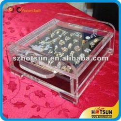 2015 New Arrival Luxury Custom Acrylic Jewelry Display case