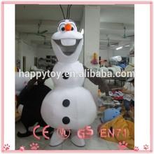 HI CE OEM Olaf costume,snowman Olaf mascot for adults, movie frozen mascot