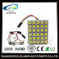 led panel light 5050 30smd auto dome led light
