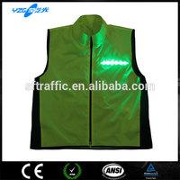 Flash LED Mens Sport Coats, EN20471
