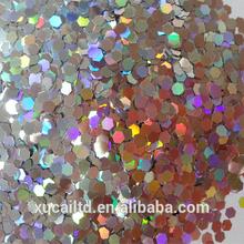 hexagon glitter powder for retail&wholesale