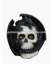 Resin Animal Dragon skull Statue Dragon Figurine