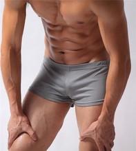 Custom Design Plain Men Sexy Shorts Cotton Tight Shorts