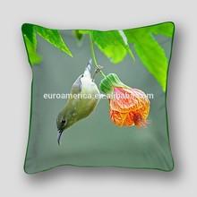 100 % cotton digital photo print cushion