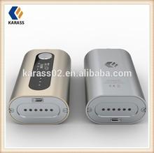Karass variable wattage gs power mechanical ecig mod,vapor mod,35w Gift box Mechanical
