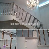 Decorative Wood Indoor Stair Railings