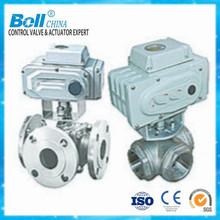Electric ANSI ball valve with high platform high quality