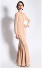 Custom fashion model baju kurung modern long woman kebaya kurung