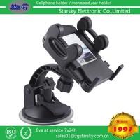 158A# Multi-functional mobile phone Holder / Mount / Clip / Buckle Socket Hands Free on Car Steering Wheel phone holder