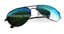 YJ00152 2015 new 16 colors RB 3025 sun glasses metal hinges glass lens aviator sun glasses