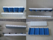 100mm thickness China Roof/wall EPS sandwich panel