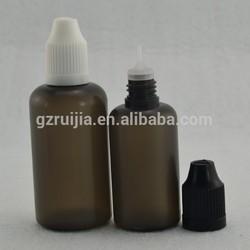 plastic detergent bottle 30ml plastic squeeze dropper bottle plastic e-liquid bottle