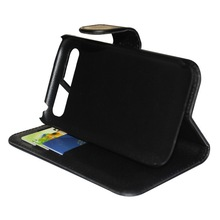 Hot Book style with stand Flip leather Wallet Case for BlackBerry Q20