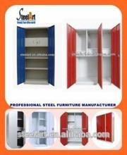 Metal bedroom furniture/steel clothes wardrobe/modular closet cabinet