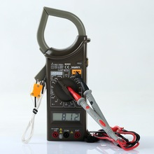 low price M266C digital clamp meter with tempearature test