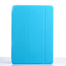 3 folio flip stand for ipad air 2 tpu pc case
