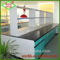 una mesa de laboratorio de mobiliario de laboratorio de equipos de laboratorio de banco de pared isla de banco con la certificación ce