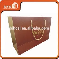 wholesale custom handmade advertising paper bag