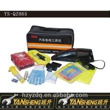 YS-QZH65 Car Emergency tool,car roadside emergency repair tool kit,auto emergency safety tool kit