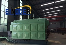 Supply DZL series Biomass/Wood/Coal fired oil burning steam boiler -SINODER