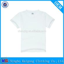 Low price wholesale kids t shirt plain t shirt,o-neck fashion cotton kids t shirt
