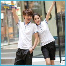 Summer new couples shop brand POLO shirts with short sleeves 5 minutes of pants for men and women sport suit
