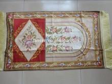 New design!Mosque design!Silk islamic prayer rug